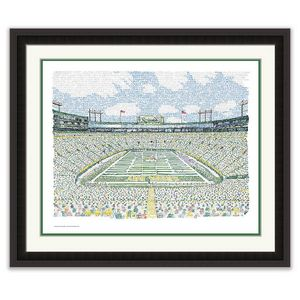 LAMBEAU FIELD - PACKERS ALL TIME ROS