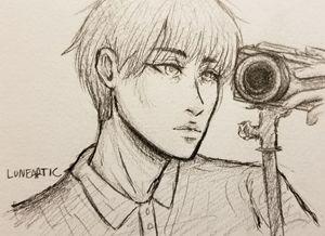 Small/medium Pencil sketch