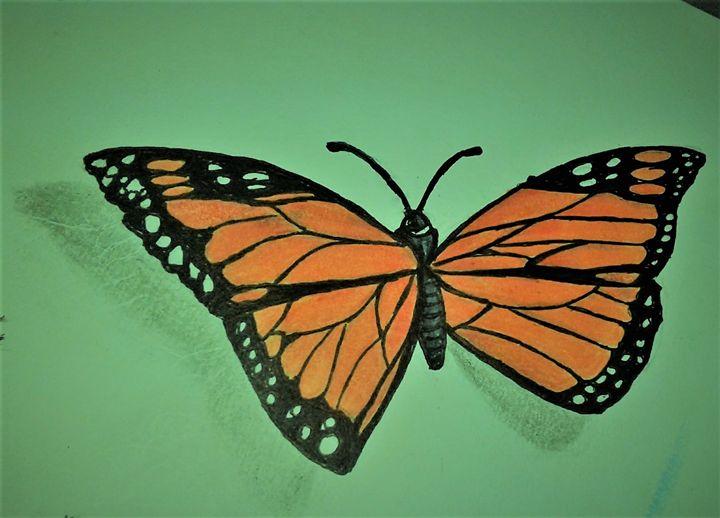 the buttterfly - Gaylynns Art