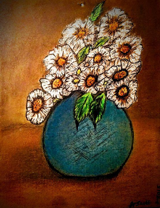 Daiseys - Gaylynns Art
