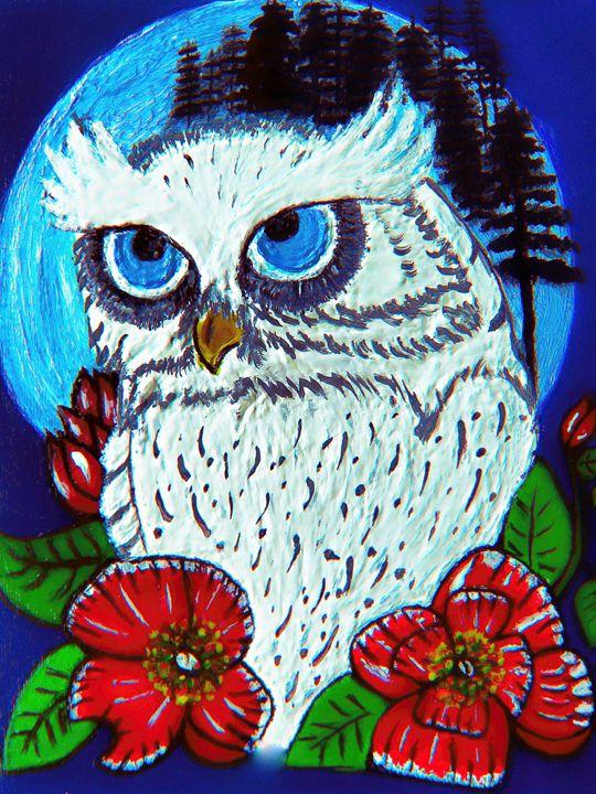 Snowy Owl - Gaylynns Art