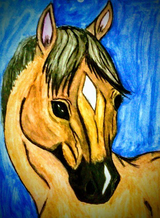 Bucky Horse - Gaylynns Art