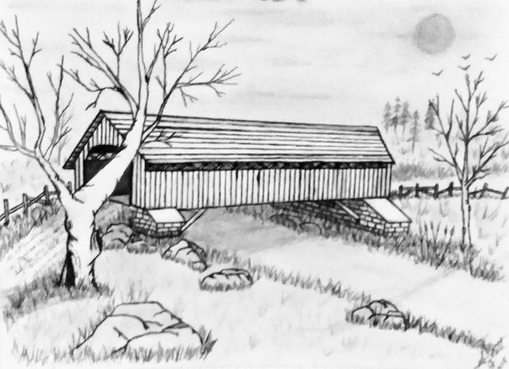 Old Barn Bridge - Gaylynns Art