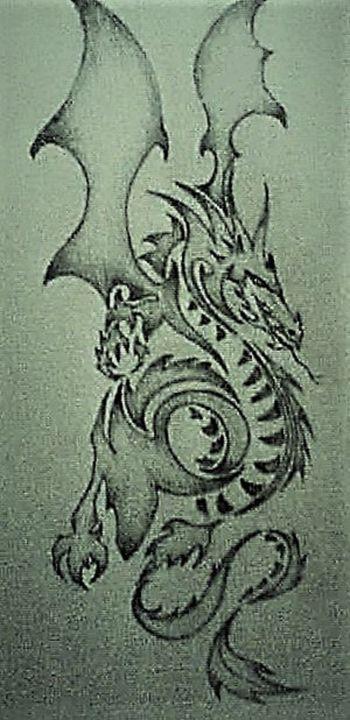 Dragon - Gaylynns Art