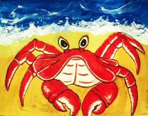 Sand Man Crab