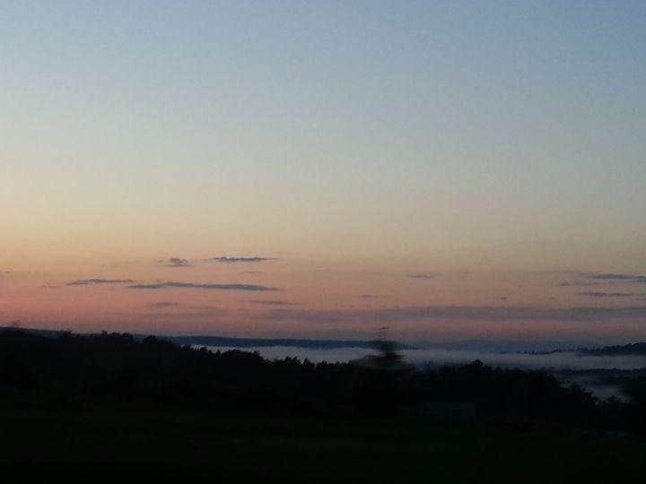 Sunset Into The Fog - Art Of The Eye
