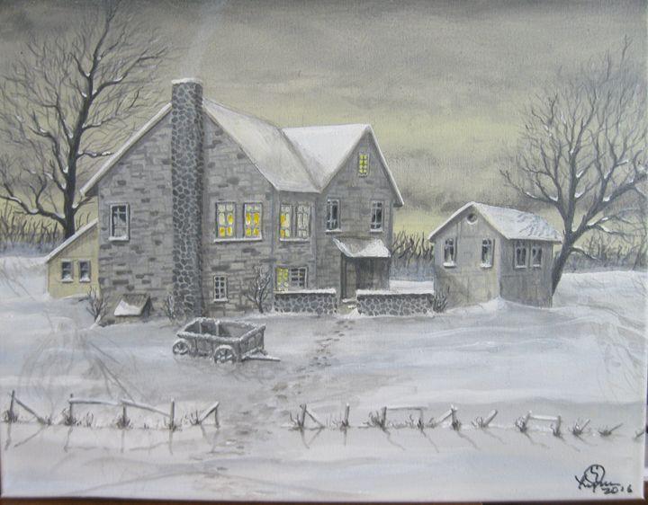 snow farm left - Lyman young