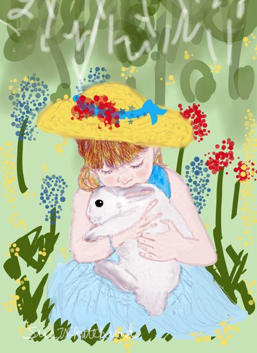 Love My Bunny - Sue Whitehead Arts