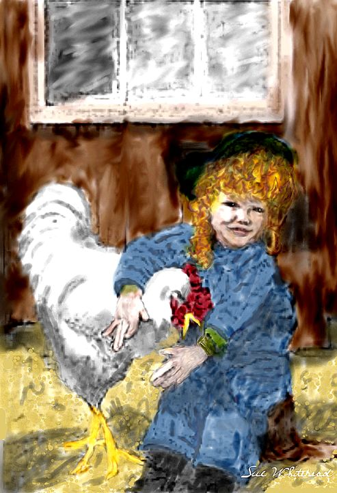 Love My Rooster - Sue Whitehead Arts
