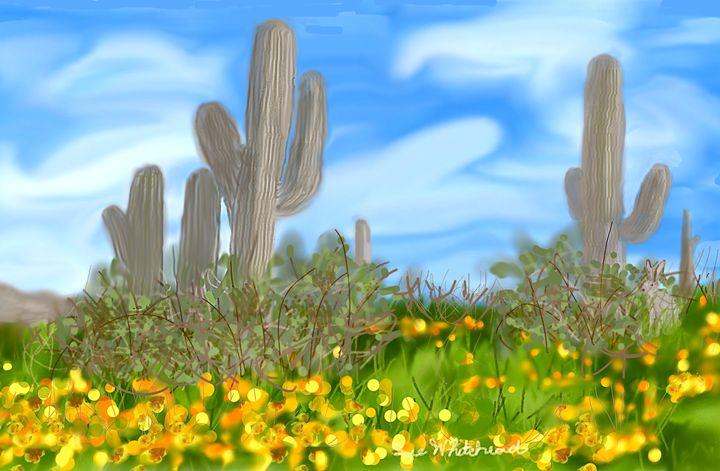 Desert in Bloom - Sue Whitehead Arts