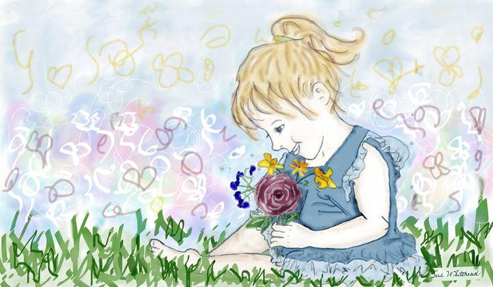 Flower Fascination - Sue Whitehead Arts