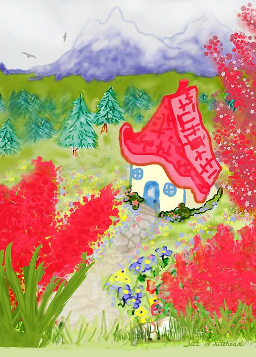Cottage In the Vale - Sue Whitehead Arts