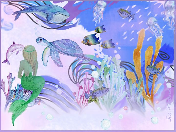 Fantasy Under the Sea - Sue Whitehead Arts