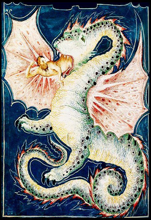 Dragon Eating a Man - Sue Whitehead Arts
