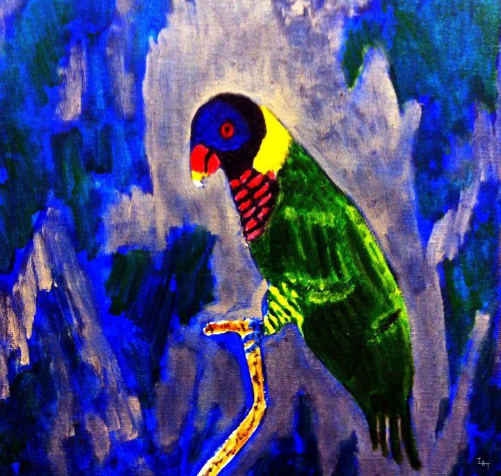Rainbow Lorikeet - Israel Torres Art