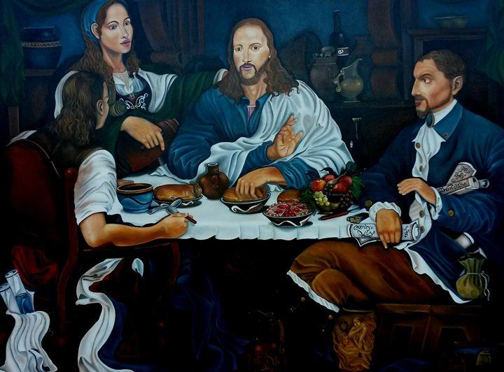Christ at emmas - Andre Silvera