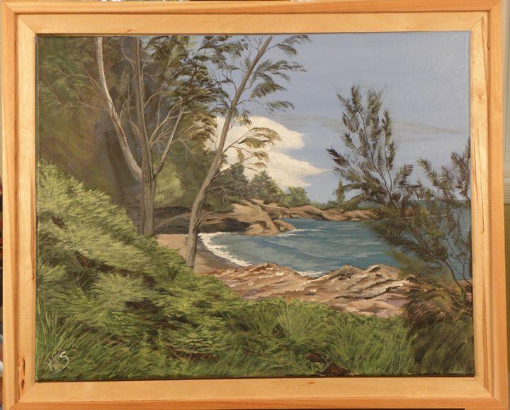 Kauai Beach Vista - WSanders Gallery