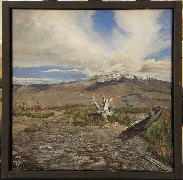 Mt St. Helens View - WSanders Gallery