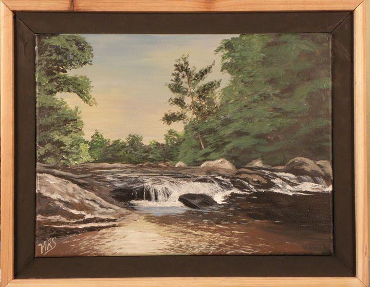 North Carolina Cascade - WSanders Gallery