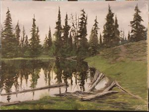 Northwestern Cascade Lake