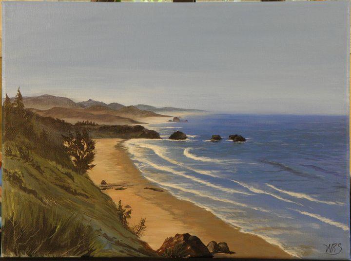 NW Coastal Vista - WSanders Gallery