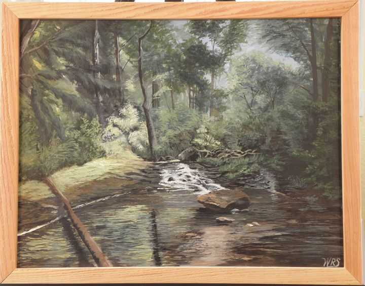 NW Mountain Creek - WSanders Gallery