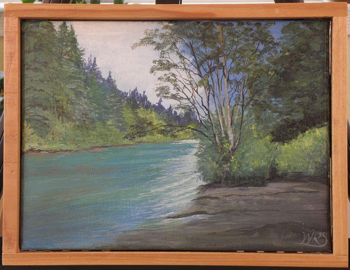 Peaceful River - WSanders Gallery