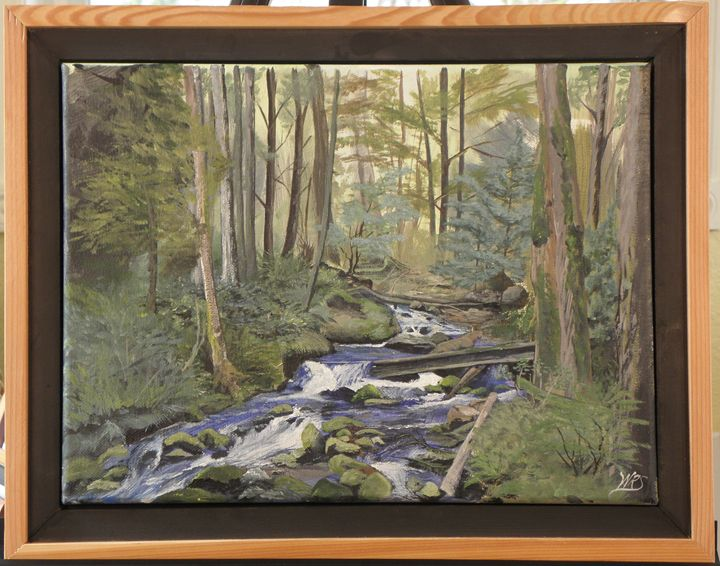 Fish Creek, Clackamus River - WSanders Gallery