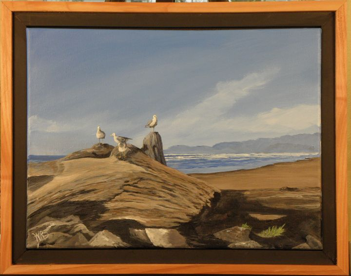 Cape Disappointment Seascape - WSanders Gallery