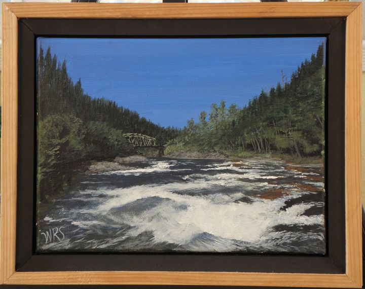 Churning River - WSanders Gallery