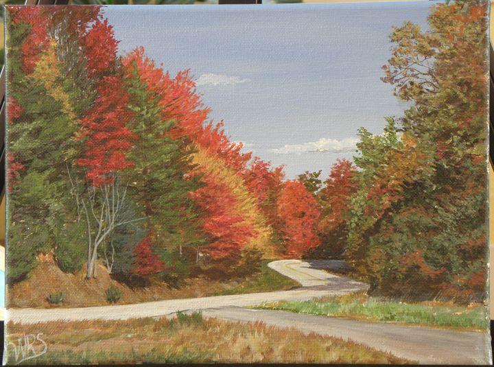 Georgia Highway in Autumn - WSanders Gallery