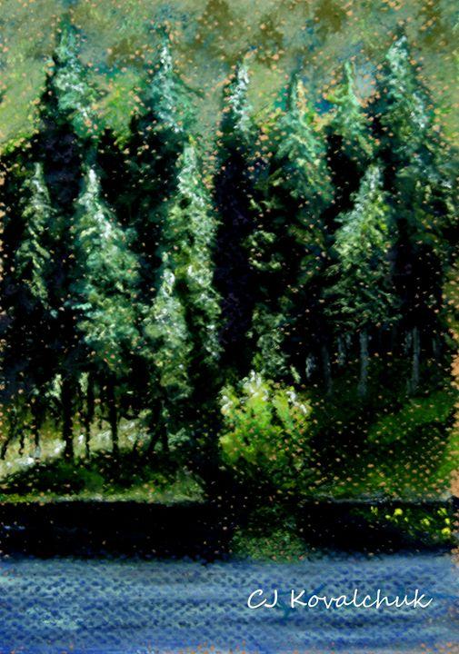 An Evening at Round Lake - CJ Kovalchuk