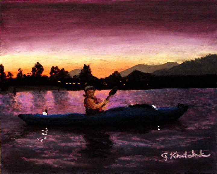 An Evening Paddle - CJ Kovalchuk