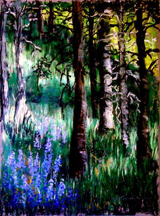 Forest Evening Glow - CJ Kovalchuk