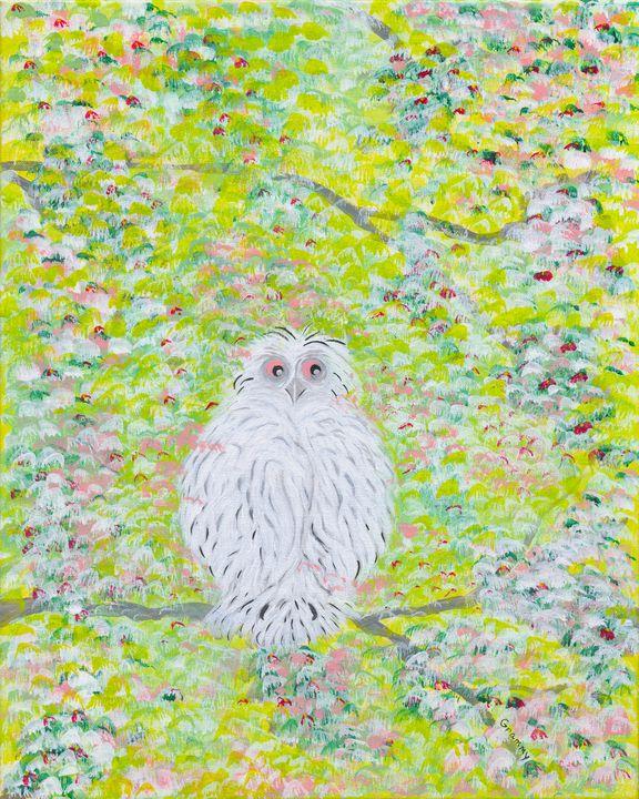 White Owl - Denise Nelson Art