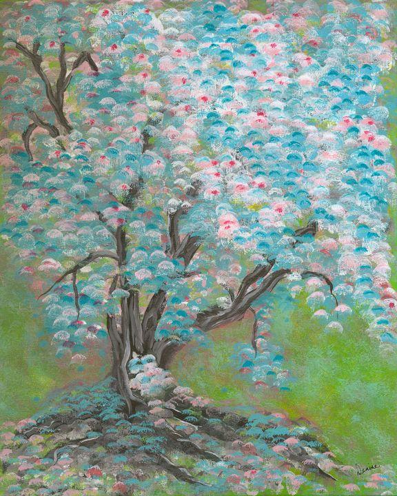 Owl Tree - Denise Nelson Art