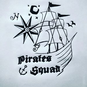 Pirates Squad poster art