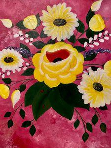 Yellow rose in Texas