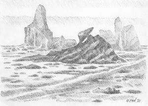 Shi Shi Beach Rocks!