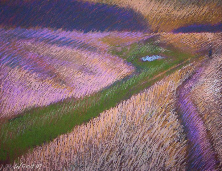 Trail Through the Marshes - Wend Art Gallery