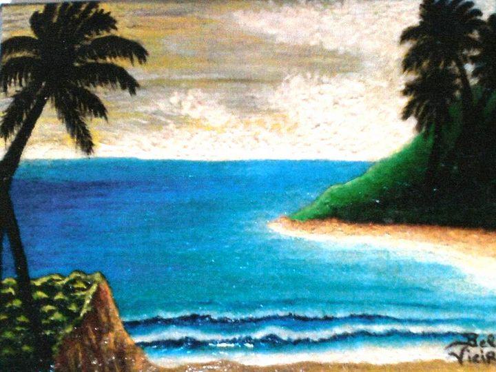 Cloudy Tropical Beach - Amabelle - Bela Vieira