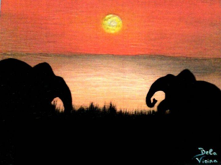 Elephants in Africa - Amabelle - Bela Vieira