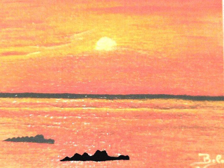 Crocodiles at Sunset - Amabelle - Bela Vieira