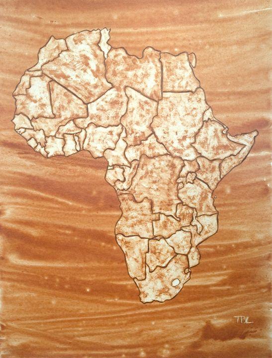 Africa - Shanya Blayde Art