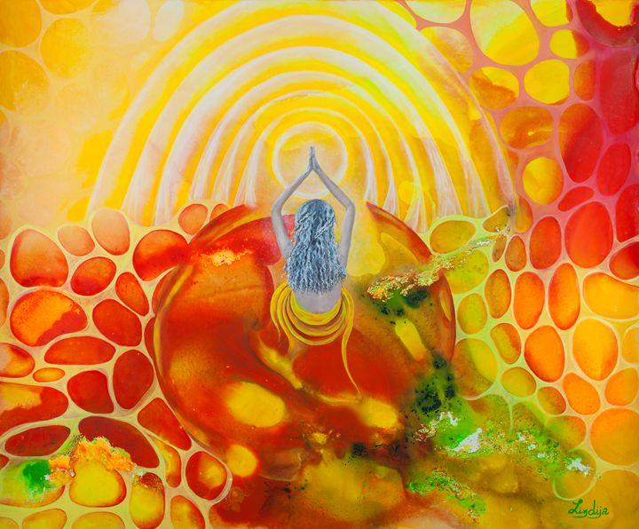 A blessing - Lindija art