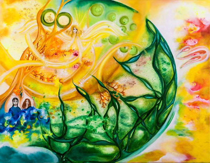 Two joined together - Lindija art