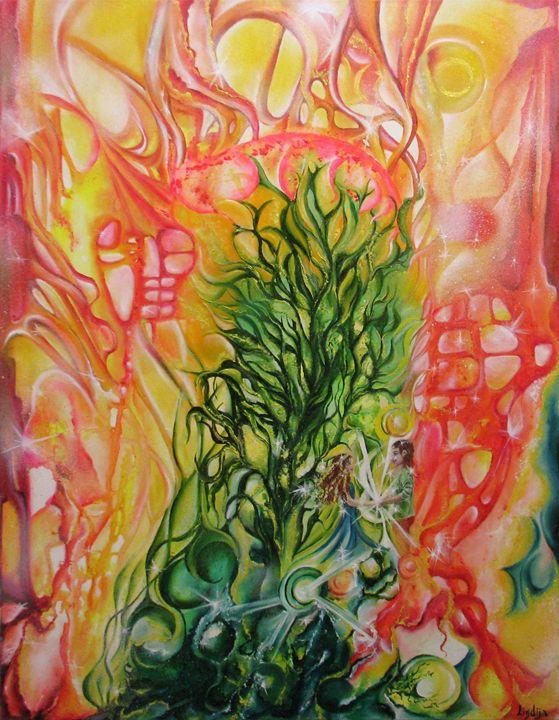 In the land of happiness - Lindija art