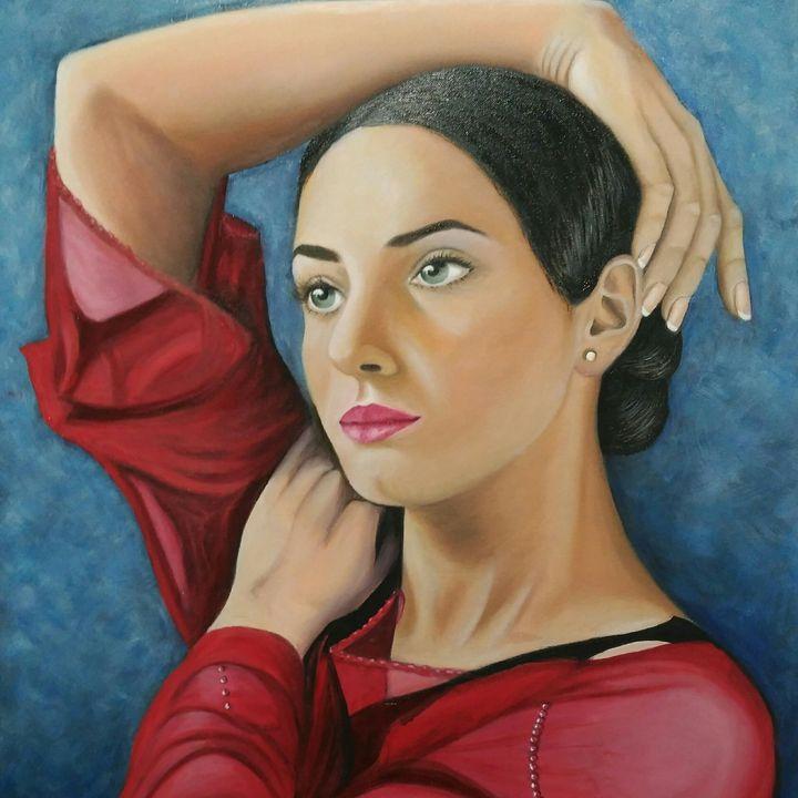 Bailarina - Rosacolorarte