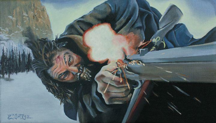 Hugh Glass The Revenant - Erick Ortega Art