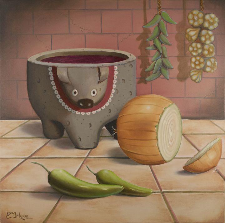 Ortega Salsa - Erick Ortega Art